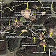 Lovedale, as seen on Google Earth...