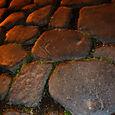large paving stones...
