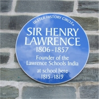 Henry Lawrence_Blue Plaque