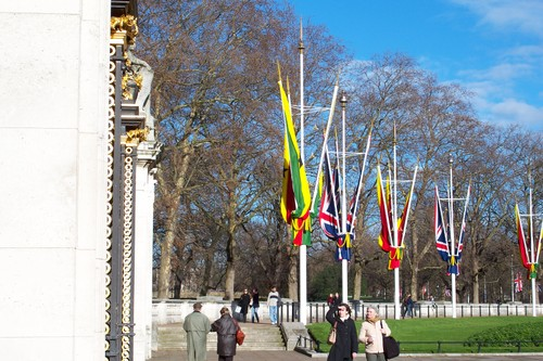 More flags for a visitor...