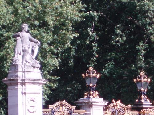Stony faced at the gates