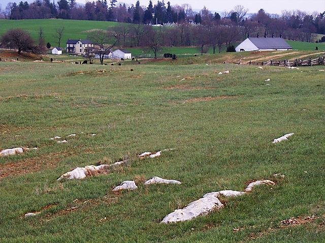 rocky fields...