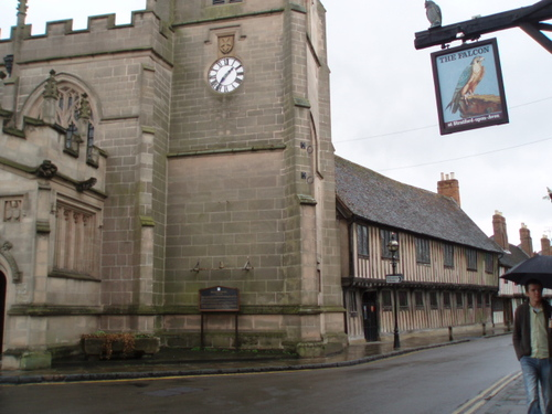The Church and School, Stratford Upon Avon