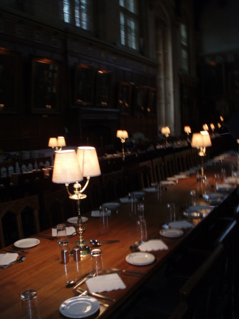 Dining room, Oxford